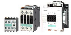 Contactores Siemens tripolares 3RT